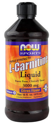 L-Carnitine Liquid Citrus Flavor 3000 mg, 16oz