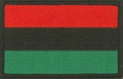 RBG Flag Iron on Patch