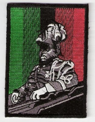 Marcus Garvey Iron on Patch