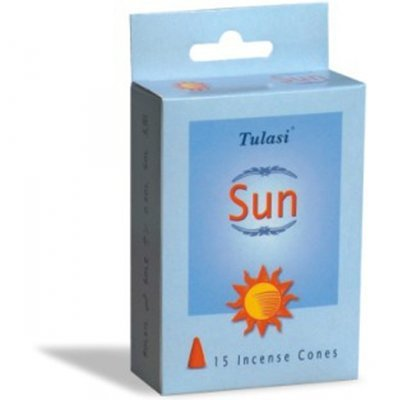 Tulasi Sun 15 Incense Cones (per pack)