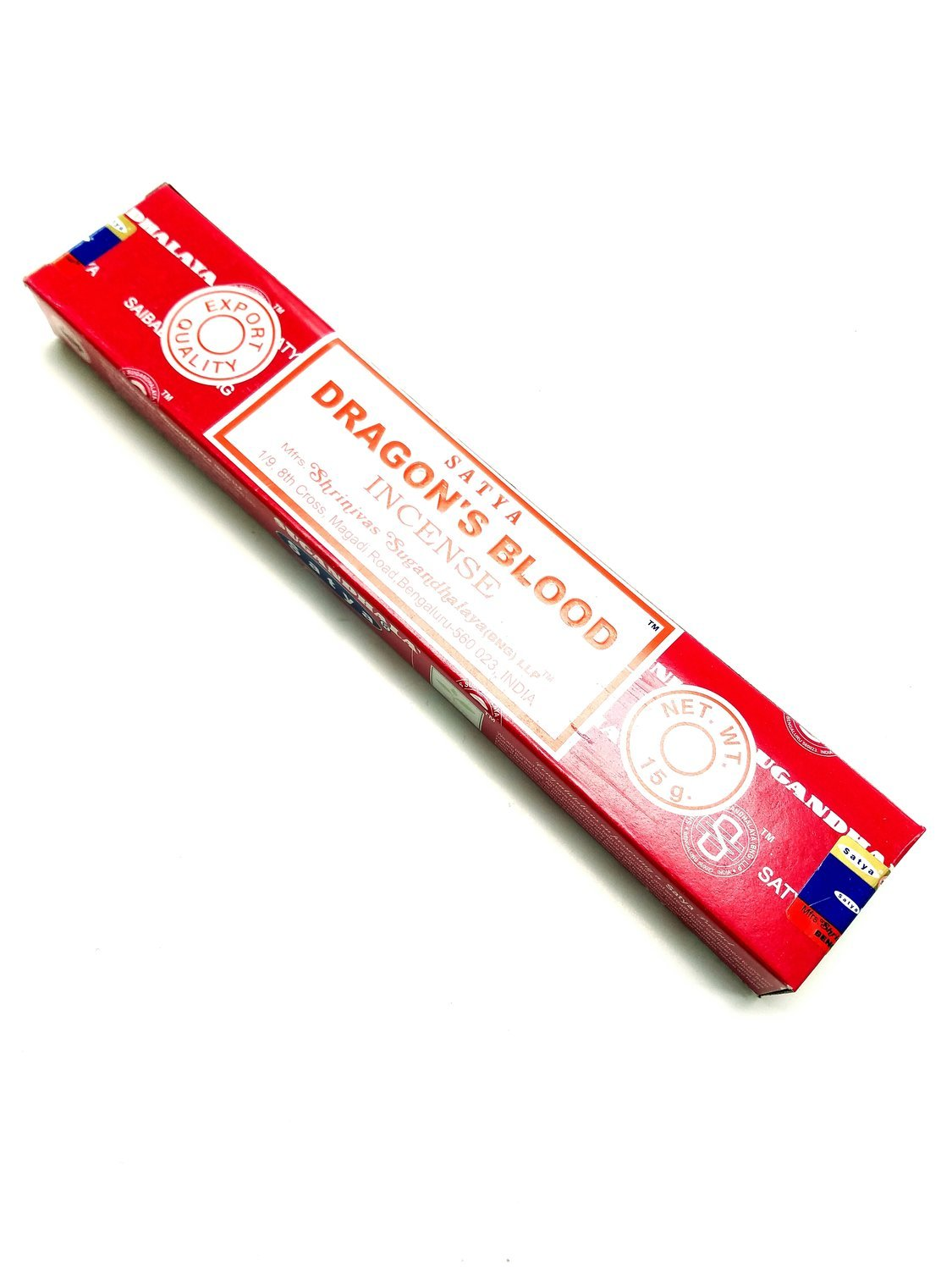 Satya Dragon's Blood Incense - 15 Grams