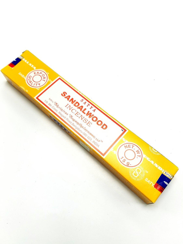 Satya Sandalwood Incense - 15 Grams