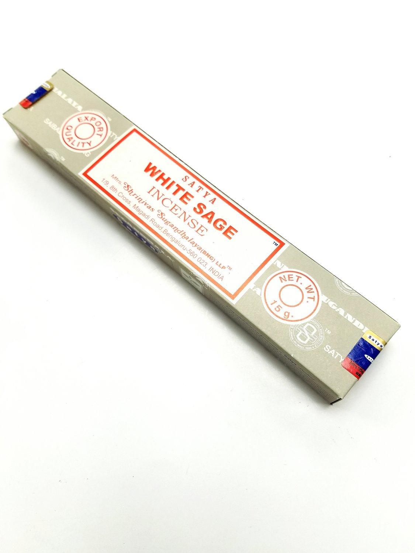 Satya White Sage Incense  - 15 Grams