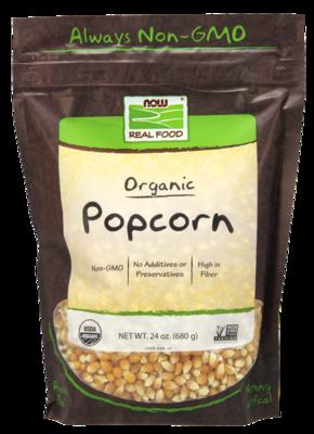 Popcorn, Organic High in Fiber 24oz