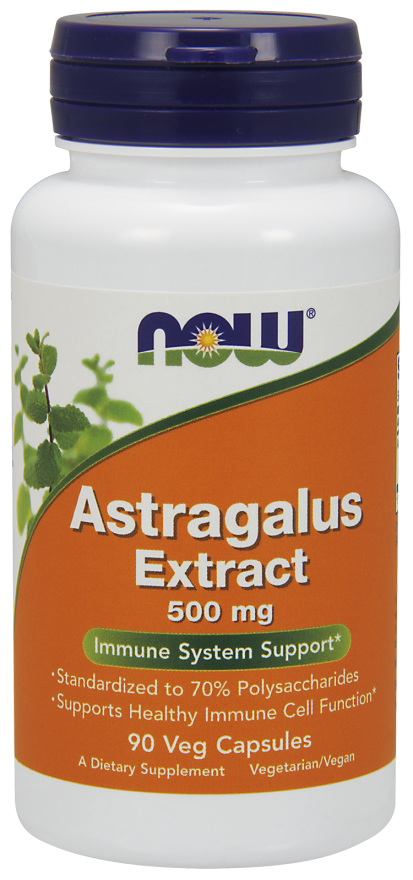 Astragalus Extract 500 mg Capsules Immune System Support* 500mg