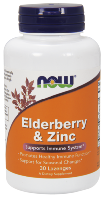 Elderberry & Zinc Lozenges Supports Immune System* 30cap