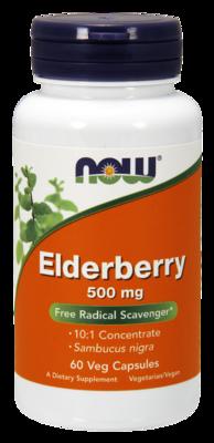 Elderberry 500 mg Veg Capsules Free Radical Scavenger*