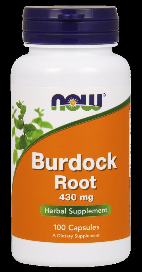 Burdock Root 430 mg Capsules Herbal Supplement