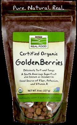 Golden Berries, Organic 8oz