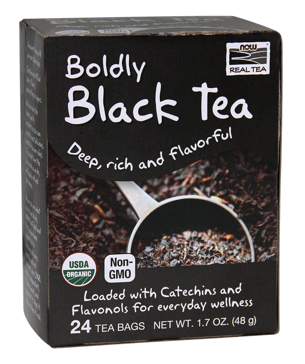 Now Real Tea- Organic Black Tea 1.7oz