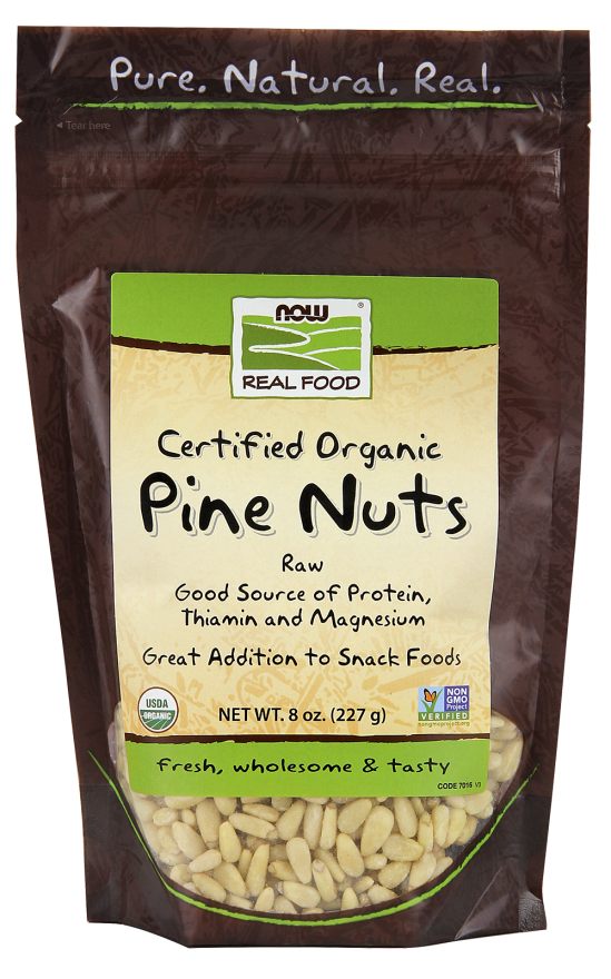 Pine Nuts, Raw Organic 8oz