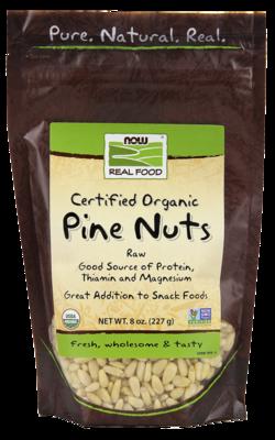 Pine Nuts, Raw Organic 8oz