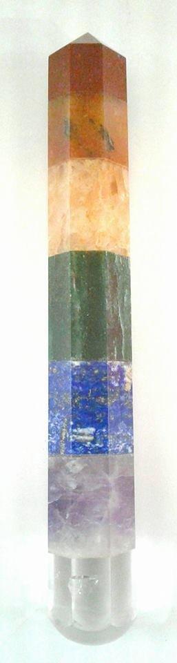 Chakra Healing Wand  (6 inch)