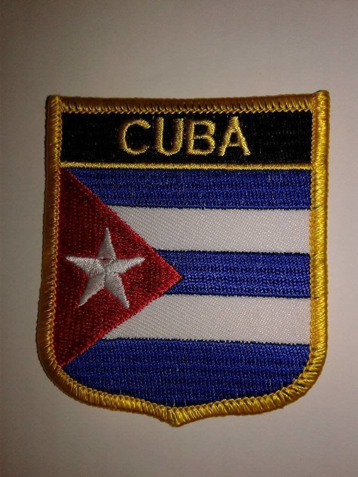 Iron On Patch-Cuba Flag