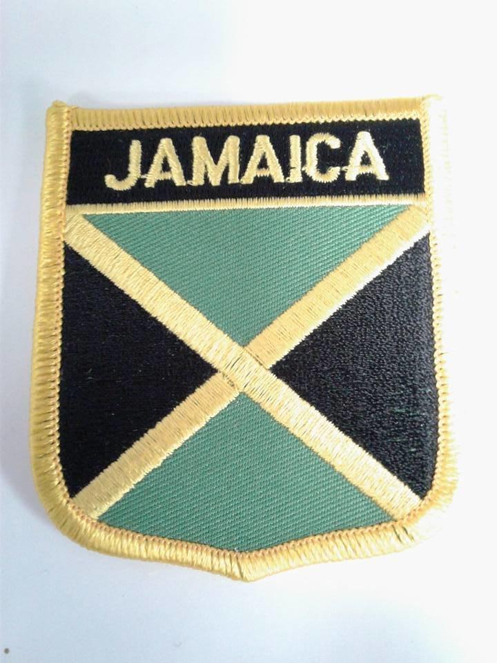 Iron On Patch-Jamaica Flag
