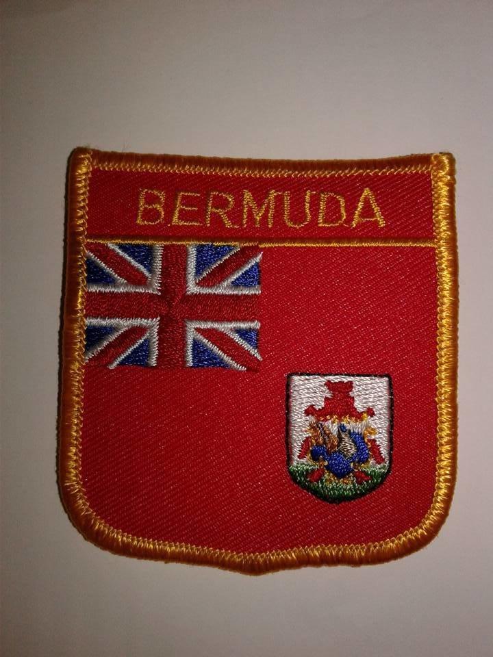 Iron On Patch-Bermuda Flag
