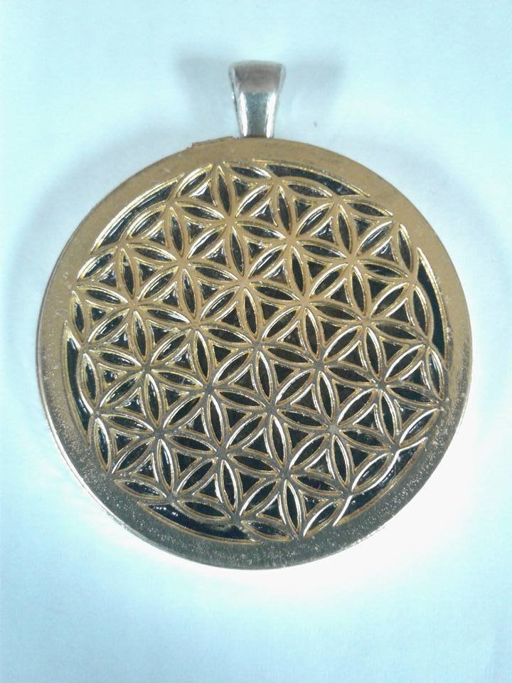 Flower of Life Orgone Pendant
