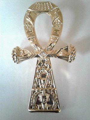 Gold plated Ankh