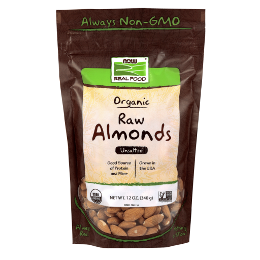 Almonds, Organic & Raw 12oz