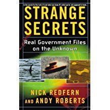 Strange Secrets: Real Government Files on the Unknown Paperback  by Nick Redfern