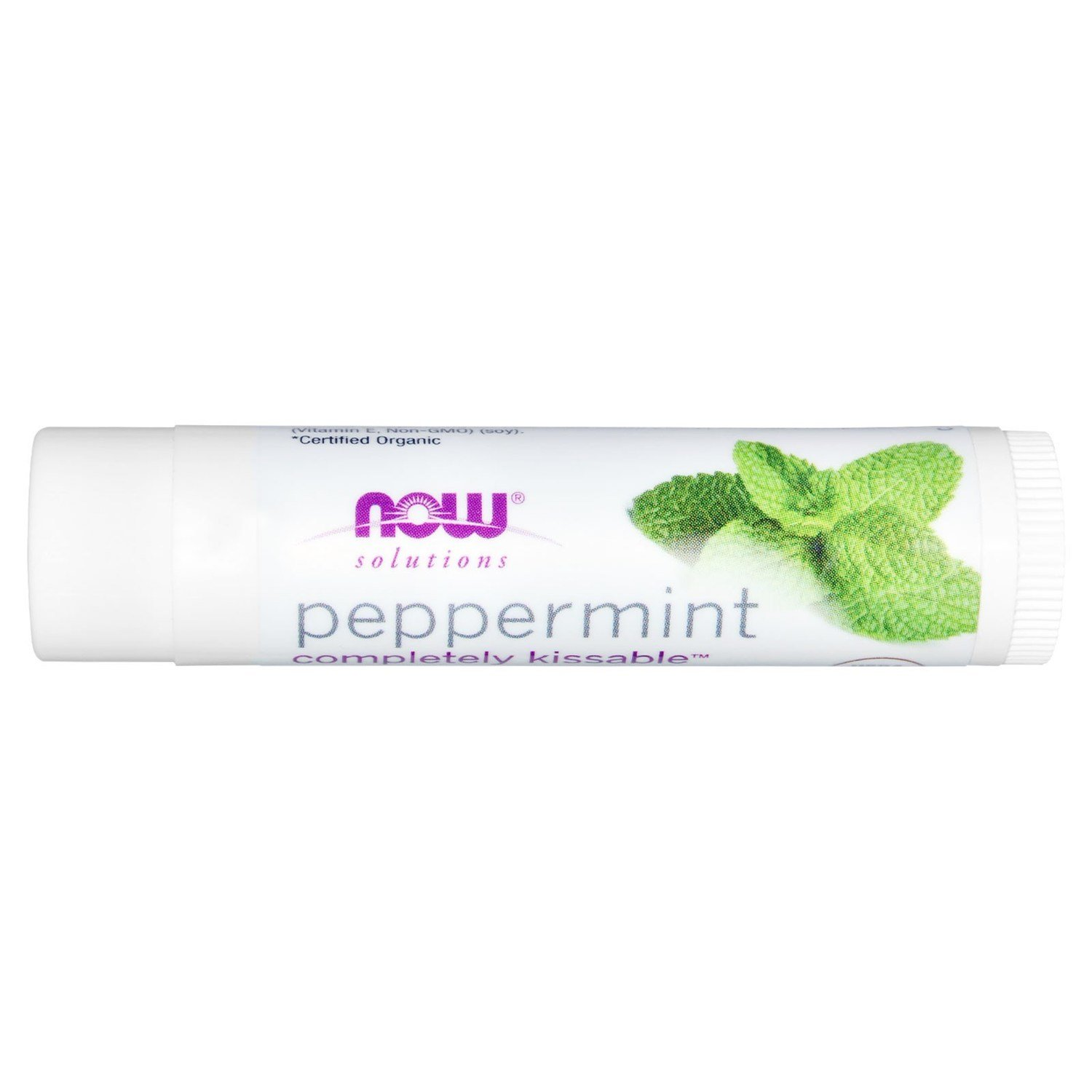Now Peppermint Lip Balm - .15 oz.