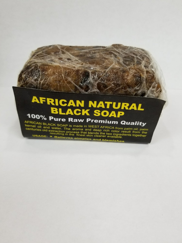 African Black Soap 100% Natural Bar Soap (small)