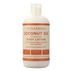 Sunaroma LOTION - COCONUT Oil, Organic Sheabutter 13oz