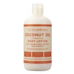 Sunaroma LOTION - COCONUT Oil, Organic Sheabutter 13oz