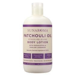 Sunaroma Lotion - Patchouli Oil, Eucalyptus 13oz