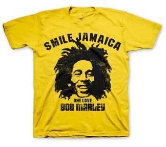 Smile Jamaica Bob Marley Toddler Tee
