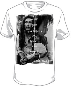 Bob Marley Free Our Minds T-Shirt