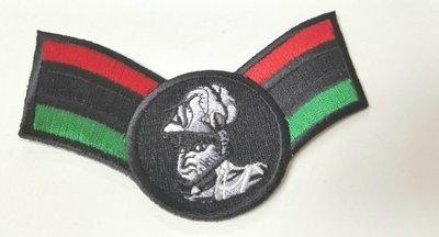 Small Marcus Garvey RBG Patch