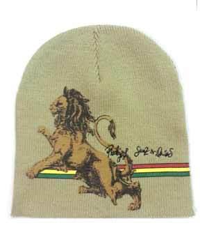 Lion of Judah Hat - Khaki