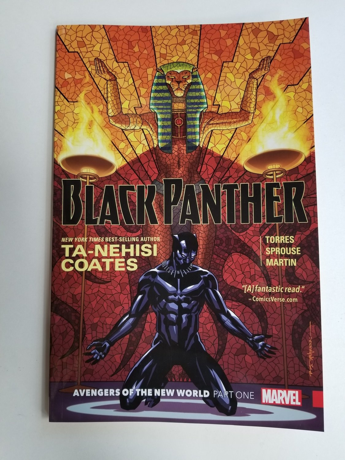 Black Panther Avengers of the New World