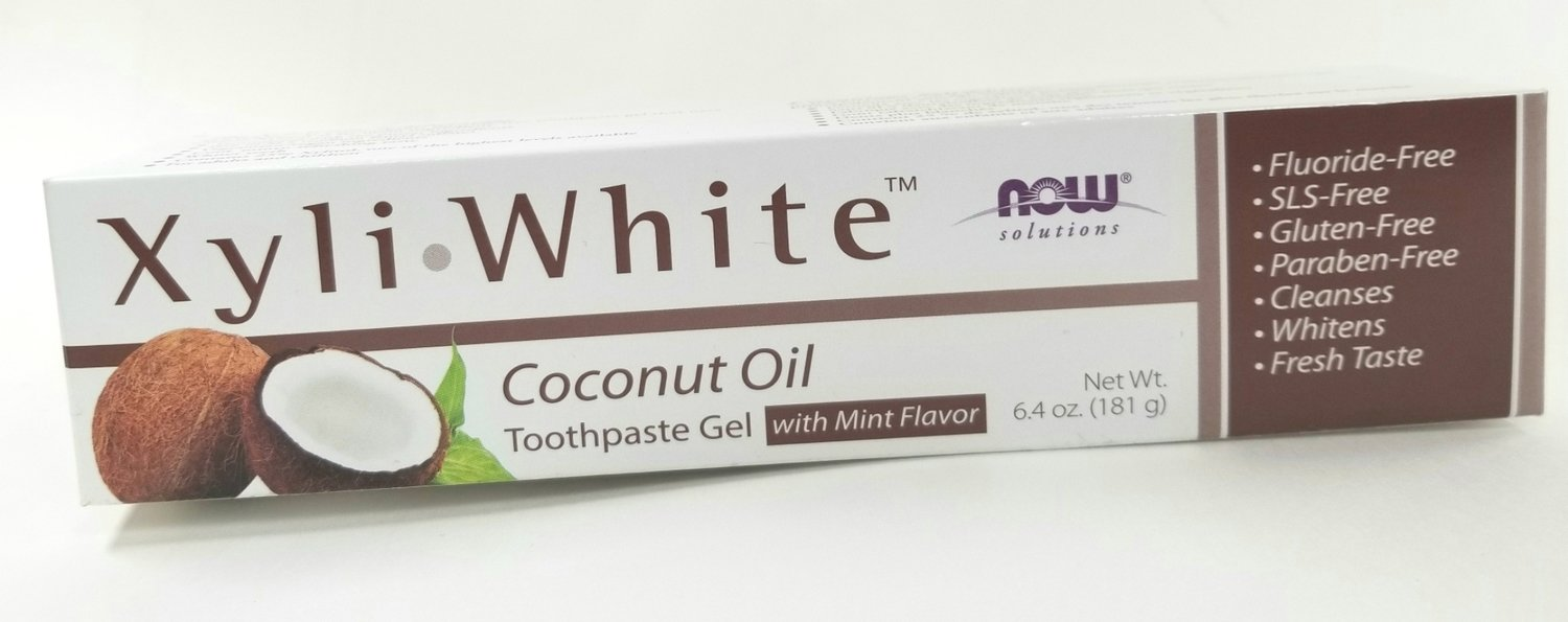 Xyli White Coconut Oil Toothpaste Gel
