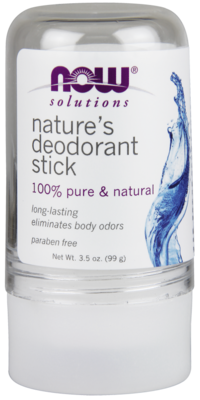 Nature's Deodorant Stick (Stone) 100% Pure & Natural