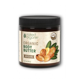 Naked Organix Organic Body Butter Argan 4oz