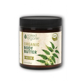 Naked Organix Organic Body Butter Neem 4oz