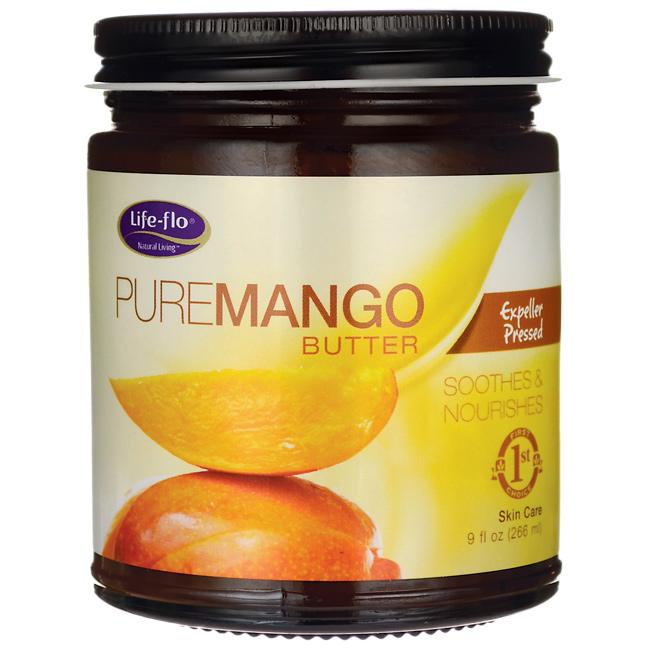 Life-Flo Pure Mango Butter 9fl oz
