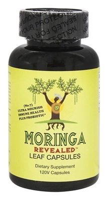 Moringa Leaf Capsules with Probiotic
