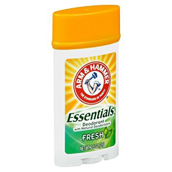 Arm & Hammer Essentials Deodorant with Natural Deodorizer 2.5oz - Fresh
