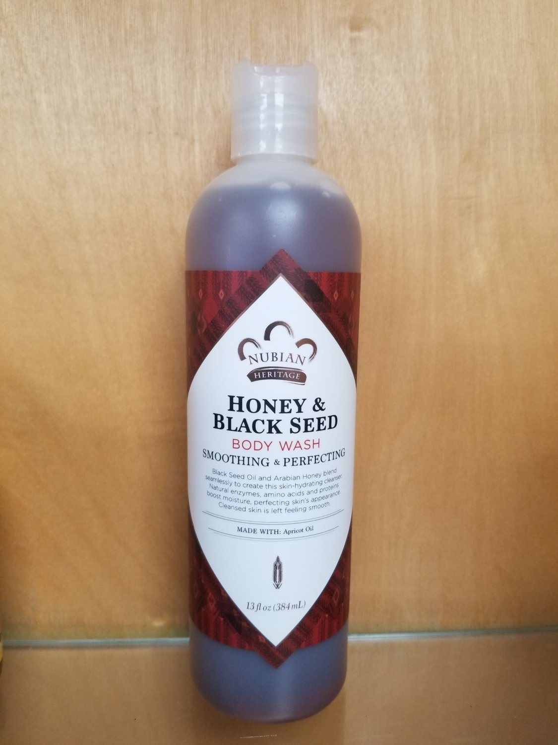 Nubian Heritage Honey & Black Seed Body Wash 13oz