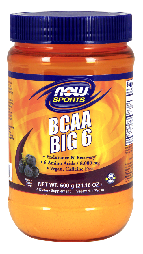 BCAA BIG 6  21oz Grape Flavor