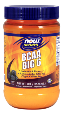 BCAA BIG 6  21oz Grape Flavor