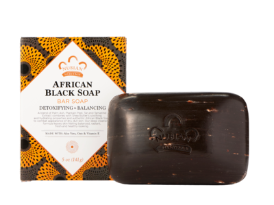 Nubian Heritage African Black Soap  - 1 Case (72 Bars)