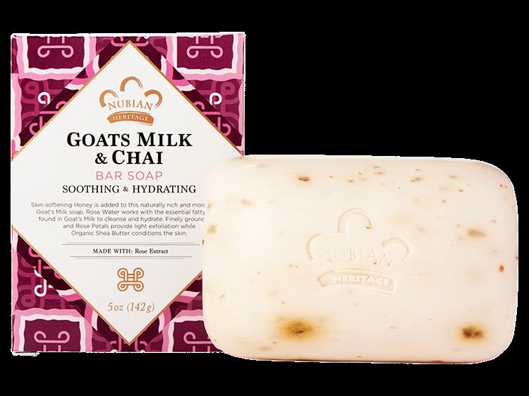 Nubian Heritage-Goat's Milk & Chai Bar Soap