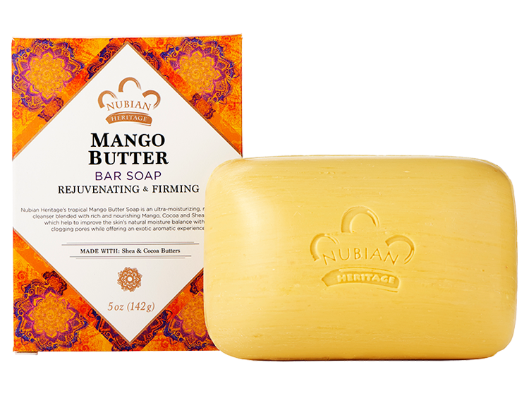 Nubian Heritage Mango Butter Bar Soap 5oz