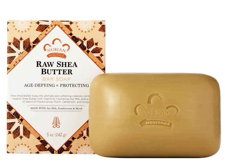 Nubian Heritage Raw Shea Butter Soap  - 6Pack