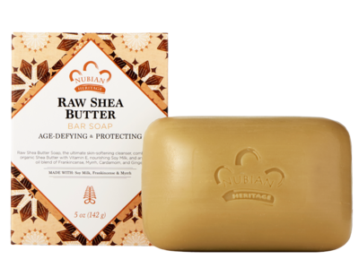 Nubian Heritage Raw Shea Butter Soap 5oz