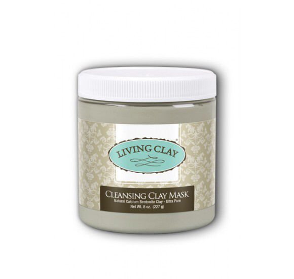 Living Clay Cleansing Clay Mask - 8oz